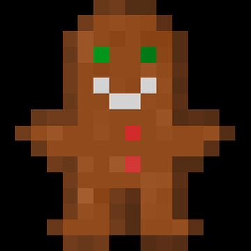 Gingerbread Man of Undying Minecraft Texture Pack