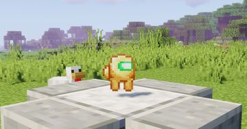 Among Us - Totem of Lying Minecraft Texture Pack