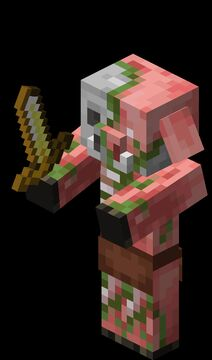 Zombified Piglin to Zombie Pigman Minecraft Texture Pack