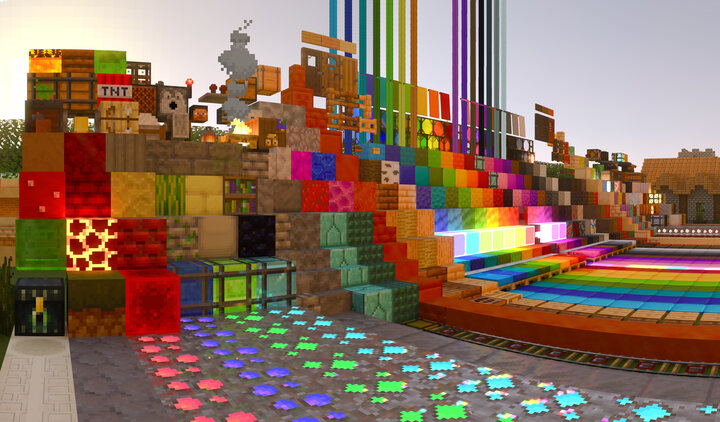Popular Texture Pack : Minecraft with RTX - NVIDIA PBR Texture Pack V1.0