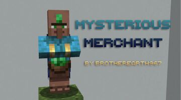 Mysterious Merchant Minecraft Texture Pack