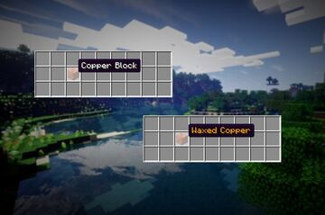 Waxed Blocks Color Name Minecraft Texture Pack