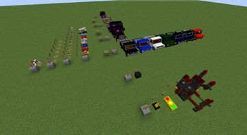 Emerald Cars Minecraft Texture Pack