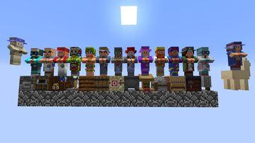 Terraria villagers Minecraft Texture Pack