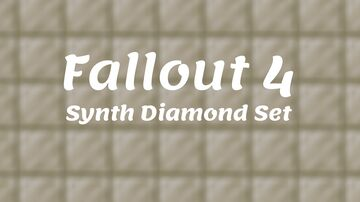 Fallout 4 Synth Diamond Gear Minecraft Texture Pack