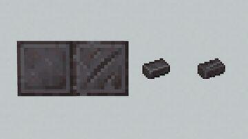 Netherite Debris Minecraft Texture Pack