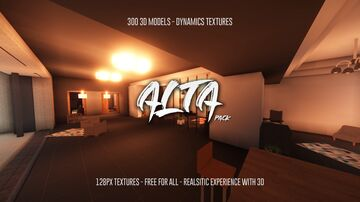 Alta Pack B1 for 1.13/1.14/1.15/1.16 Minecraft Texture Pack