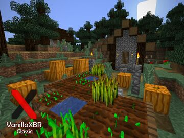 VanillaXBR Classic Minecraft Texture Pack