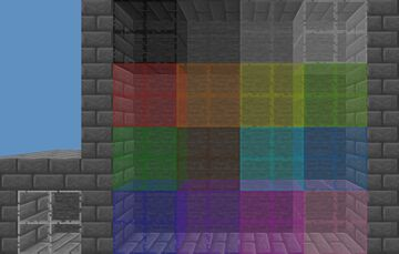 Caguicai Glass Variants Minecraft Texture Pack