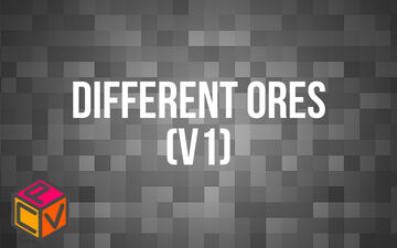 Different Ores Minecraft Texture Pack