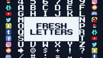 Fresh Letters v.1 Minecraft Texture Pack