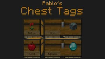 Pablo's Chest Tags (Optifine) Minecraft Texture Pack