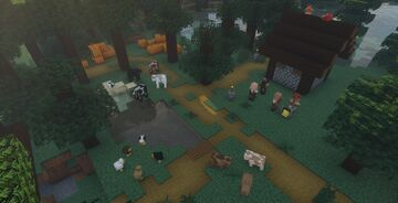 Alternate entities (Official faithful 32x addon) 1.15 - 1.16 Minecraft Texture Pack