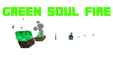 Green soul fire Minecraft Texture Pack