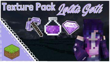 Gothic Lolita Texture Pack 1.16.1+ Minecraft Texture Pack