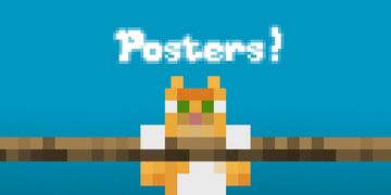 Simple Iconic Posters Minecraft Texture Pack