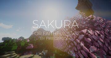 Sakura for Faithful 32x Minecraft Texture Pack