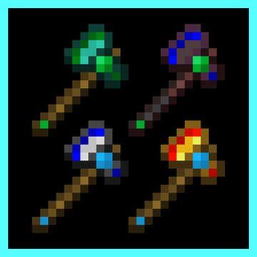 VEGE: Alternate Axe Combos 1.0.1 [OptiFine] Minecraft Texture Pack