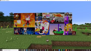 My fursona painting pack Minecraft Texture Pack