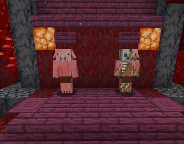 Piglin Swap! Swap your Nether pigs ya dig? Minecraft Texture Pack