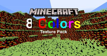 8 Colors 1.4 Minecraft Texture Pack