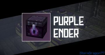 Purple Ender Minecraft Texture Pack