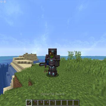 Ph1lza's Netherite Minecraft Texture Pack