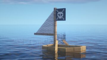 Pirate Boat Minecraft Texture Pack