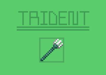 Skinnier Trident Minecraft Texture Pack