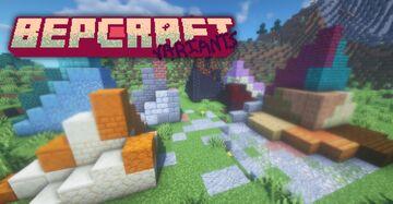 BepCraft: Variants   Adds 40 New Blocks! Minecraft Texture Pack