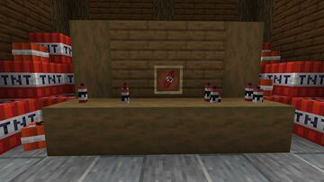 Red candles into dynamite Minecraft Texture Pack