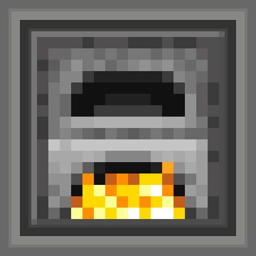 Animated Furnace Minecraft Texture Pack