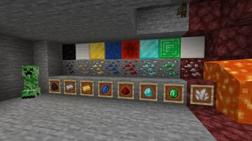 Same looking ores Minecraft Texture Pack