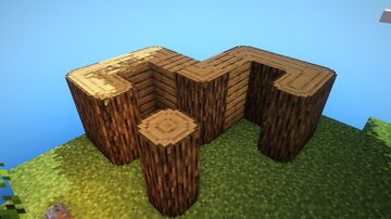 Concept: connected round logs (no optifine required) Minecraft Texture Pack
