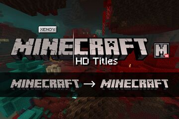 HD Minecraft Titles Minecraft Texture Pack