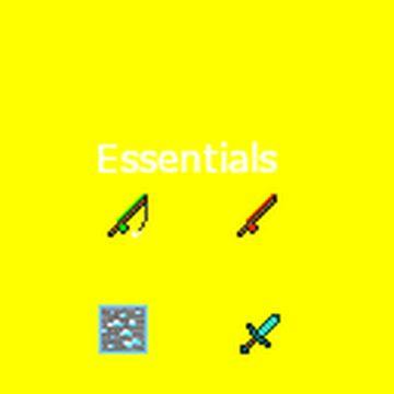 Essentials Minecraft Texture Pack