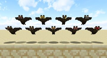 Bats with hats [OptiFine] Minecraft Texture Pack