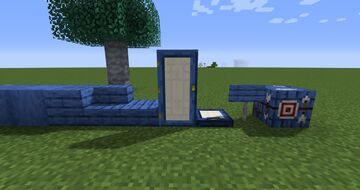 Blue boards Minecraft Texture Pack