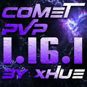 CometPvP - Low Fire, Updated Textures, and Nostalgic Soundpack Minecraft Texture Pack