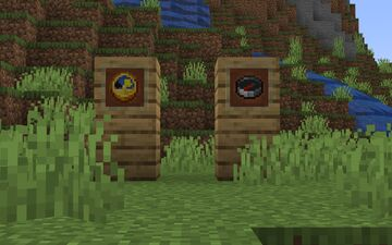 Clock and compass from 1.17 Minecraft Texture Pack