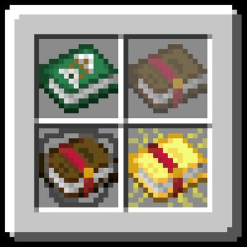 Dasher's Custom Enchant Books for 1.15.x Minecraft Texture Pack