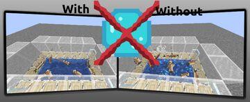 [1.13 - 1.16] No Bubble Particles [x16, x8, x1] Minecraft Texture Pack