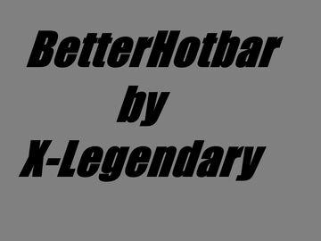 [1.15] BetterHotbar Minecraft Texture Pack