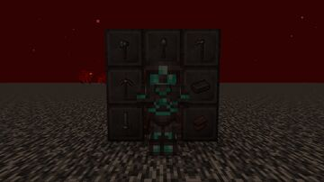 Netherite plated armor Minecraft Texture Pack