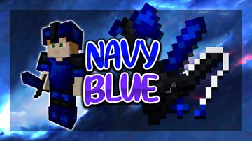Navy Blue V2 [16x] FPS PVP Pack Minecraft Texture Pack