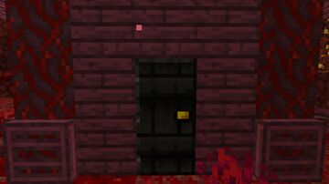I see a red door and I want it painted black - Resource pack (1.16+) Minecraft Texture Pack