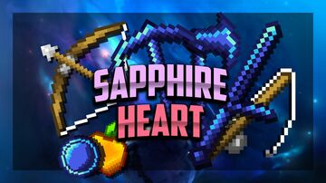 Sapphire Heart [32x] FPS PVP Pack Minecraft Texture Pack