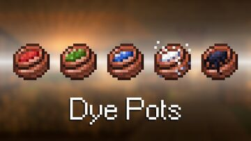 Dye Pots Minecraft Texture Pack