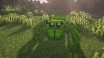 Better Spiders (Optifine) (My last resourcepack) Minecraft Texture Pack