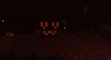 UwU Magma cubes and OwO Slimes Minecraft Texture Pack